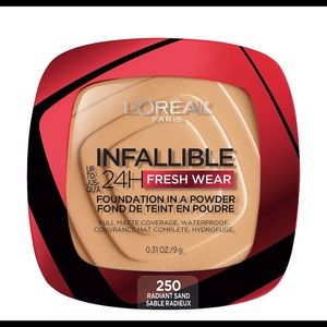 L'Oréal Infallible Powder Foundation RADIANT SAND